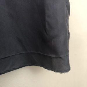 J. Crew Tops - J Crew Calista Cami soft black tank top silk
